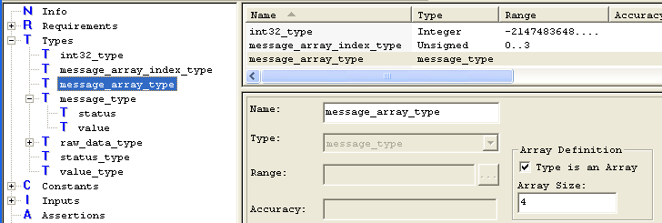 Array Types