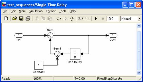 Single Time Delay